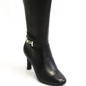 Bandolino Shoes - Bandolino Lamari Wide Calf Dress Boots Black
